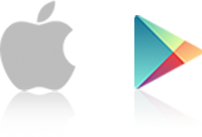 iOS and Google Play icons